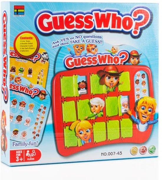 Afbeelding van het spel Wie is het? Bordspel
