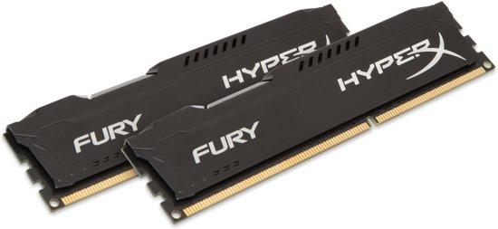 Kingston HyperX FURY 16GB DDR3 1600MHz (2 x 8 GB)