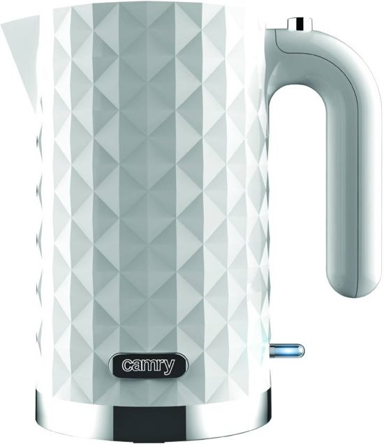 Camry CR 1269w - Waterkoker - wit trendy - 1.7 L