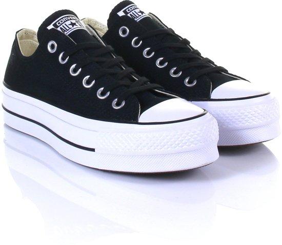 bf9c21fcff2 bol.com | Converse Dames Sneakers Chuck Taylor Allstar Lift - Zwart ...