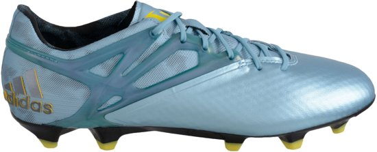 adidas Messi 15.1 FGAG Voetbalschoenen Maat 46 Mannen blauwgeel