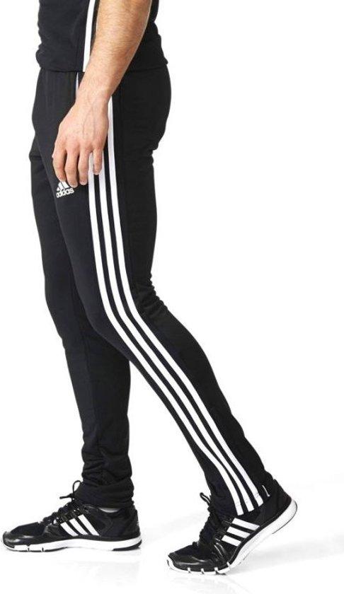 adidas T16 Sweatpant Sportbroek Maat S Mannen zwartwit