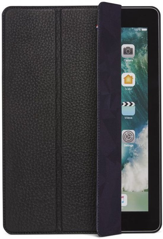 Decoded Leather Slim Cover Apple iPad Pro 10.5 inch (2017) Zwart