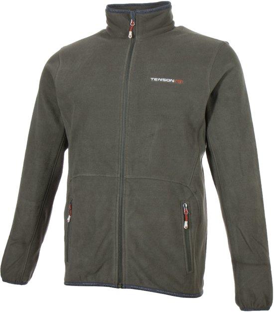 Tenson Miller Fleece  Sportjas - Maat M  - Mannen - groen