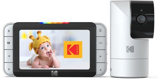 Kodak C525 wifi babyfoon met beweegbare camera en 5