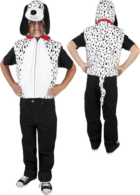 d4017b84814 Onesie Pluche Dalmatier - Kostuum - 5-7 jaar