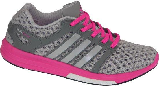 Adidas CC Sonic Boost W M29625, Vrouwen, Grijs, Sportschoenen maat: 39 1/3 EU