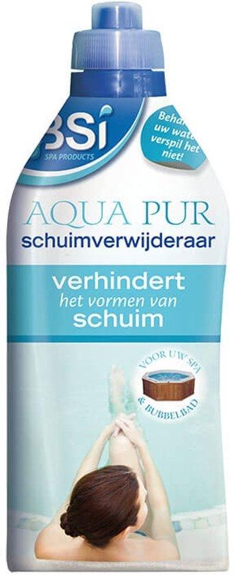 Aqua pur schuimverwijderaar 1 L - vermindert schuimvorming