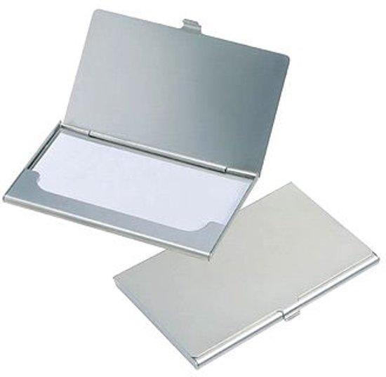 Bol Com Aluminium Kaartjes Visitekaartjes Houder Doosje