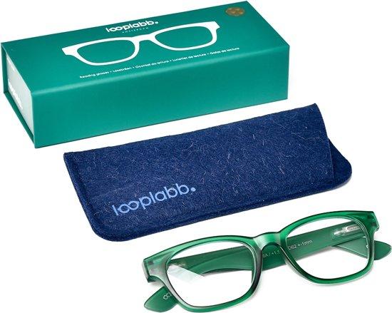 Looplabb. Momo Leesbril - Groen - Sterkte: +3.50