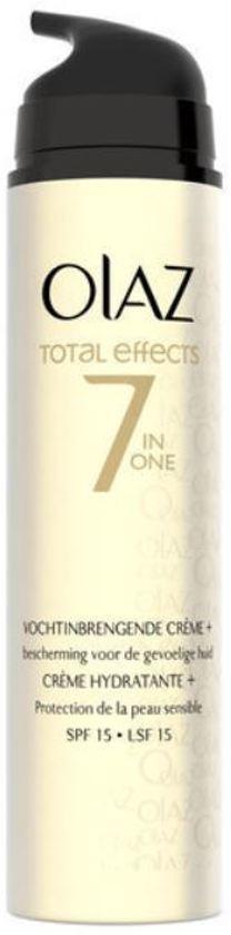 olaz total effects 7 in 1 gevoelige huid spf 15. Black Bedroom Furniture Sets. Home Design Ideas