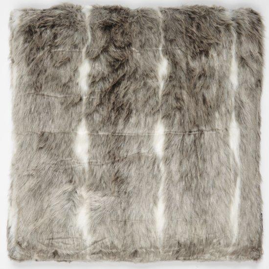 Riverdale sierkussen comfy grijs wit 50x50 cm for Comfy kussen