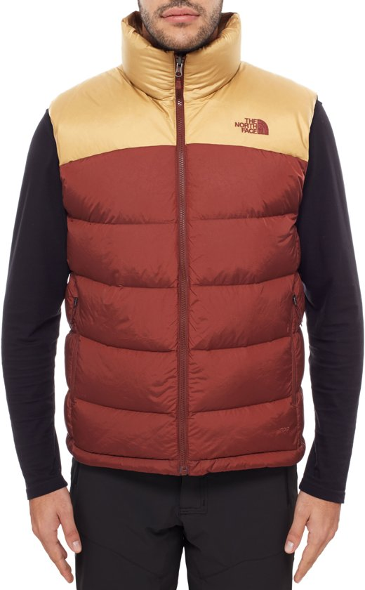 f11ab0b44e The North Face Nuptse 2 - Bodywarmer - Heren - Maat M - Rood