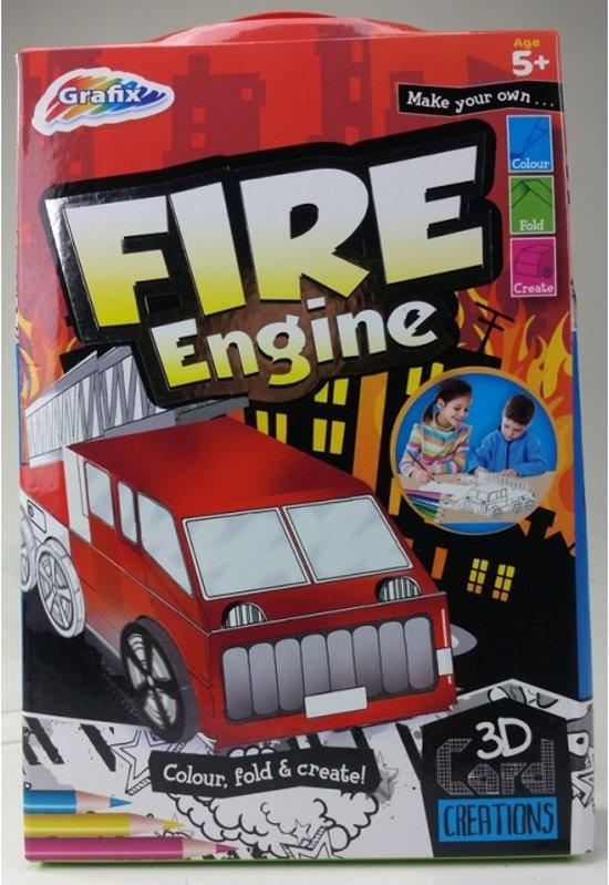 Maak je eigen 3D Brandweerwagen