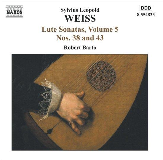 Weiss: Lute Sonatas,Vol.5