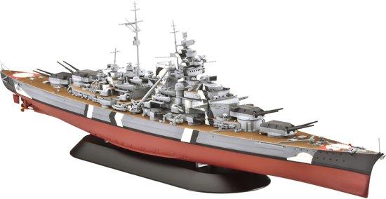 Revell Boot Battleship Bismarck - Bouwpakket - 1:700