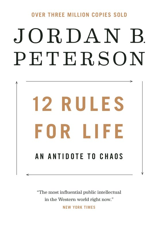Boek cover 12 Rules for Life van Peterson, Jordan B. (Paperback)