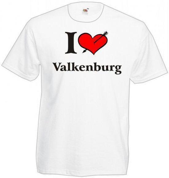 Mijncadeautje T-shirt WIT (maat XL) - Valkenburg
