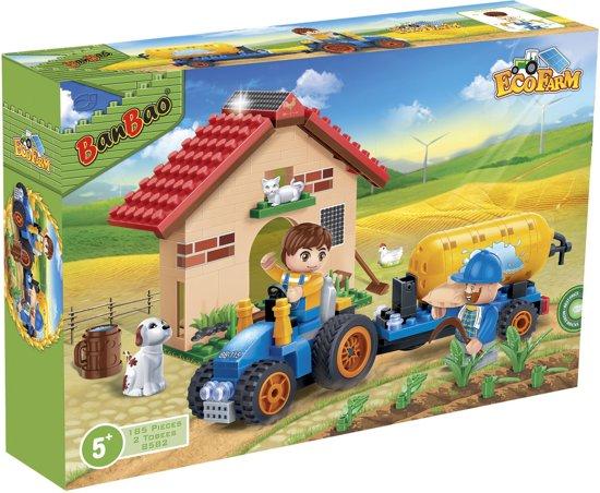 af418b962d59e2 bol.com | BanBao Eco Boerderij Tractor met Giertank - 8582, BanBao ...