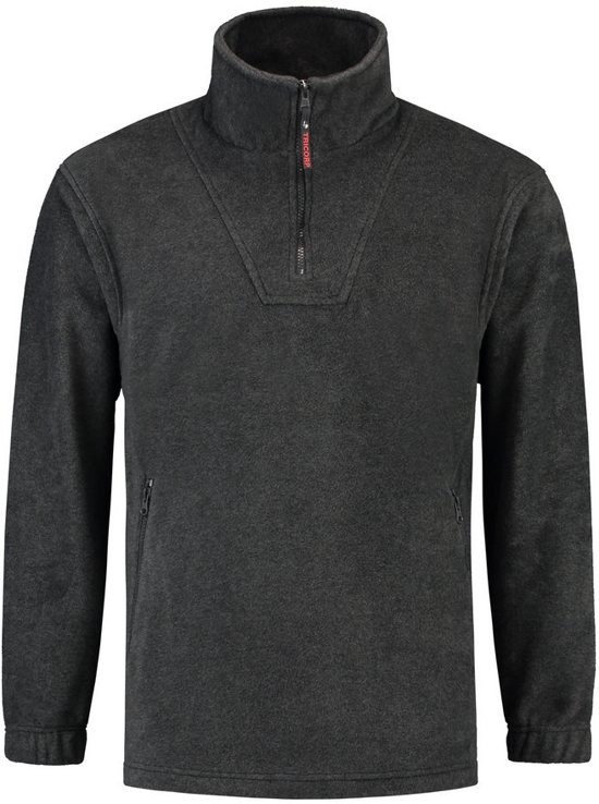 Tricorp Fleece sweater - Casual - 301001 - antracietgrijs - maat M