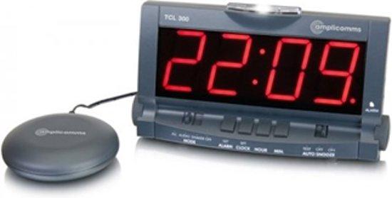 Bol.com digitale wekker tcl 300 shake awake met trilkussen