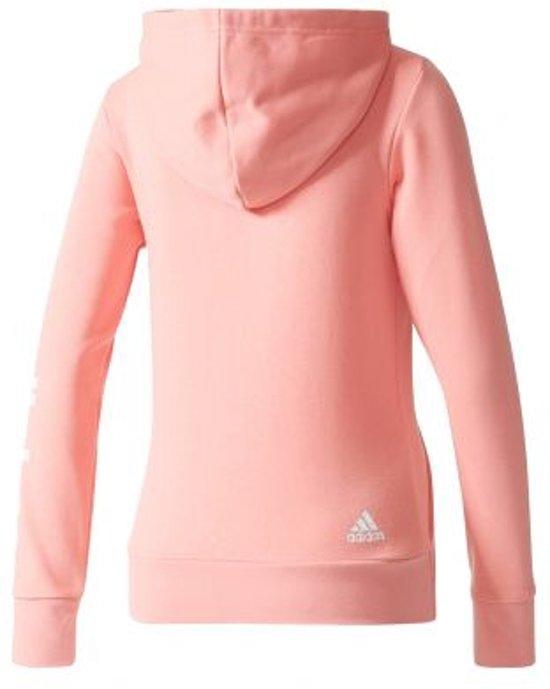 adidas Essentials Linear Full Zip Hood Dames maat XL