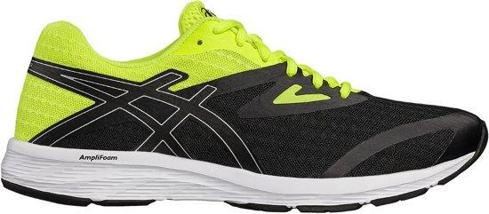 Asics Amplica hardloopschoen Heren Sportschoenen - Maat 45 - Mannen - zwart/geel