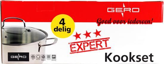 Gero Expert 4-delig Kookset