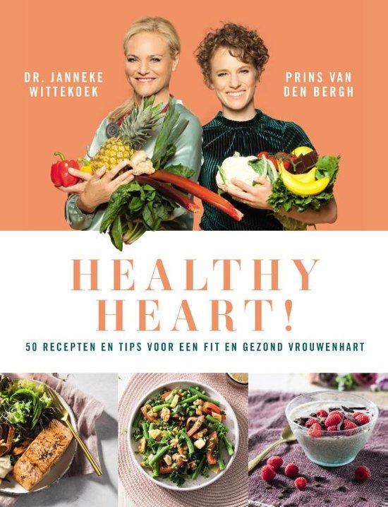 Boek cover Healthy heart van Janneke Wittekoek