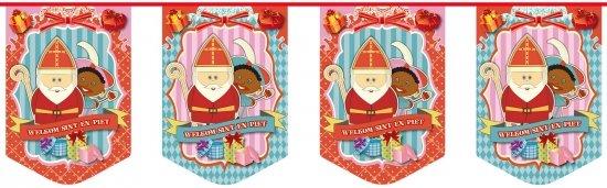 Sinterklaas Vlaggenlijn Sint en Piet