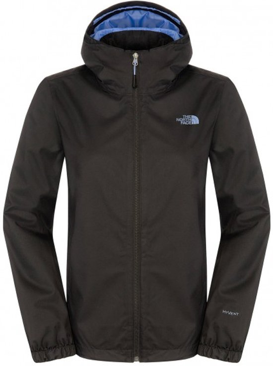 The North Face - Quest Dames regenjas (zwart) - L