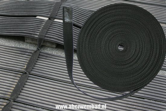 aansluitset solar4pool en zwembadverwarming bevestigings band