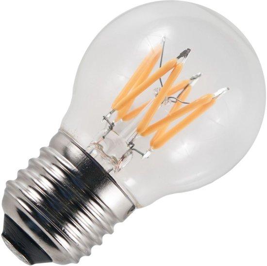 SPL LED filament kogellamp 6W grote fitting E27