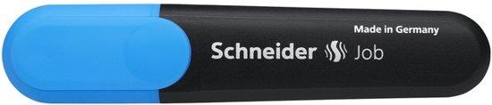 tekstmarker Schneider Job 150 blauw doos met 10 stuks