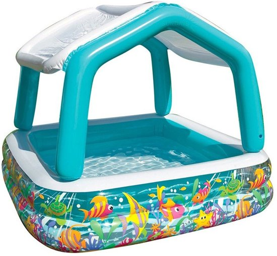 Intex Zwembad Blauw, Wit