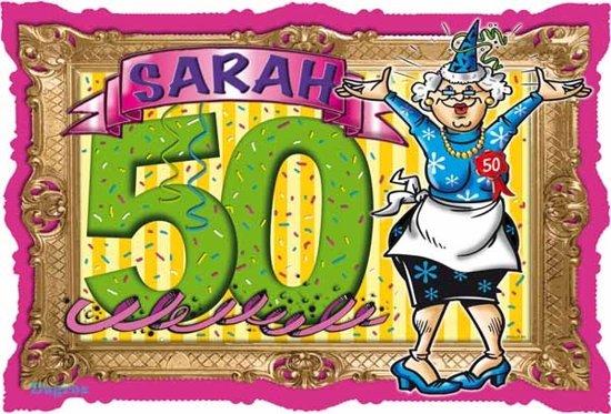 Favoriete bol.com | 50 Jaar Sarah Deurbord Stripes 48x33cm, Folat | Speelgoed @MT43