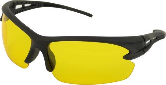 Auto 'Night-Vision' - Sportbril - Unisex - Geel / Zwart