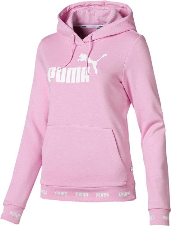 e7ef6ce66aa bol.com   PUMA Amplified Hoody Trui Dames - Pale Pink