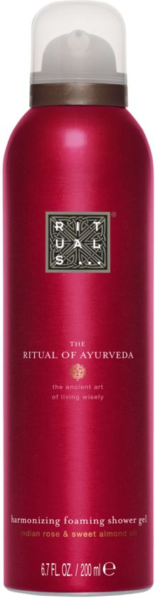 The Ritual of Ayurveda Foaming Doucheschuim - 200 ml