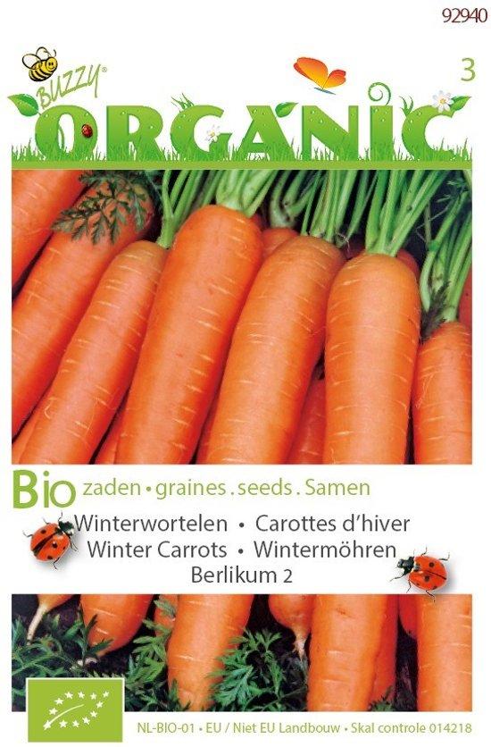 Buzzy® Organic Winterwortelen Berlikum 2 (BIO)