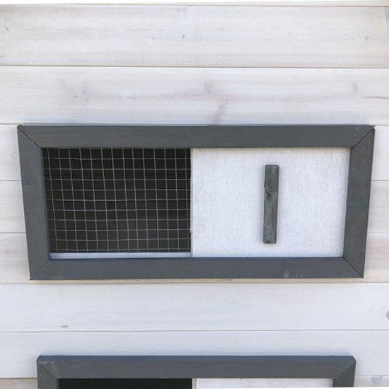 Petstar Luca Cottage - Kippenhok - 122 x 165 x 112 cm