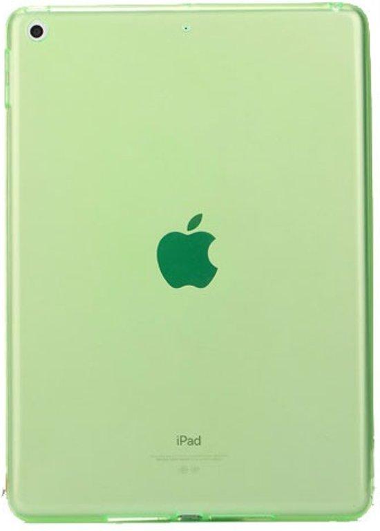 iPad 2018 - siliconen case - Groen