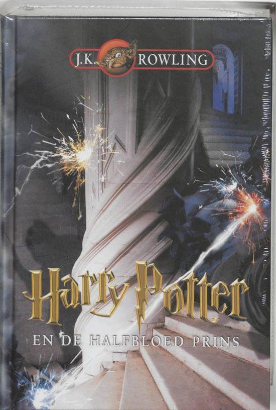 Cover van het boek 'Harry Potter en de halfbloed prins' van J.K. Rowling
