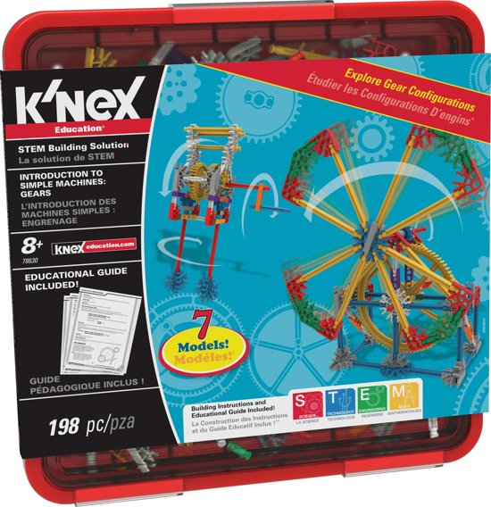 K'NEX Education Intro to Simple Machines: Gears - Bouwset