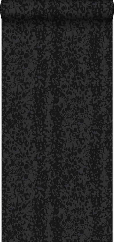 lijmdruk vlies behang dierenhuid zwart - 326326 Originwallcoverings.com