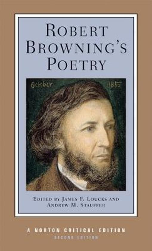 a biography of robert browning a poet