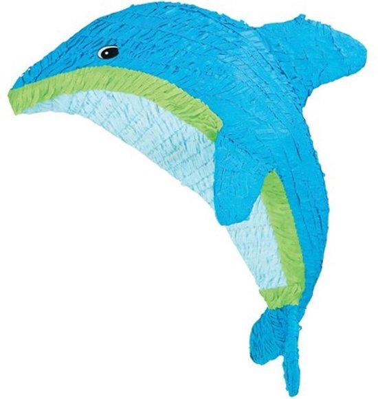Piñata - Dolfijn - blauw - 56 cm Valentinaa