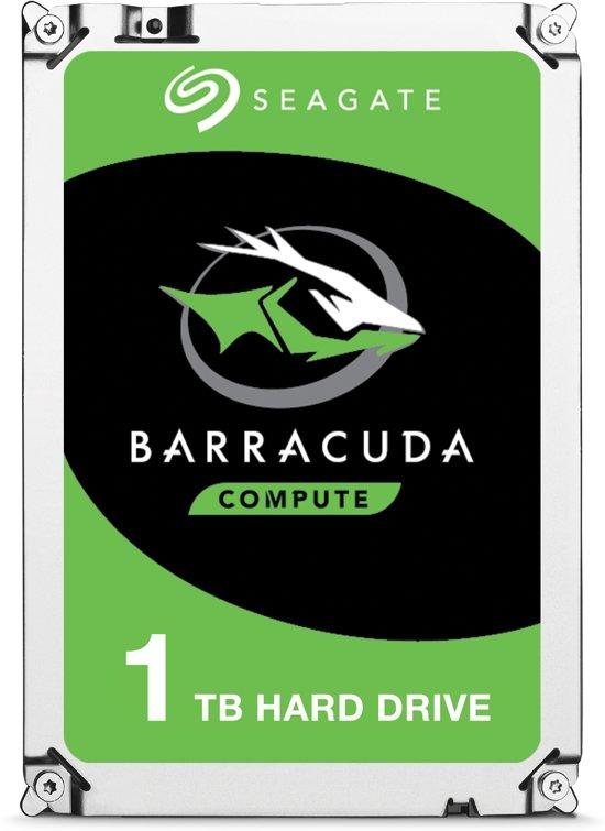 Seagate BarraCuda - Interne harde schijf - 1 TB
