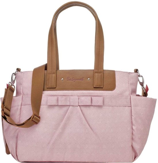 Babymel verzorgingstas Cara Bloom Dusty Pink Origami