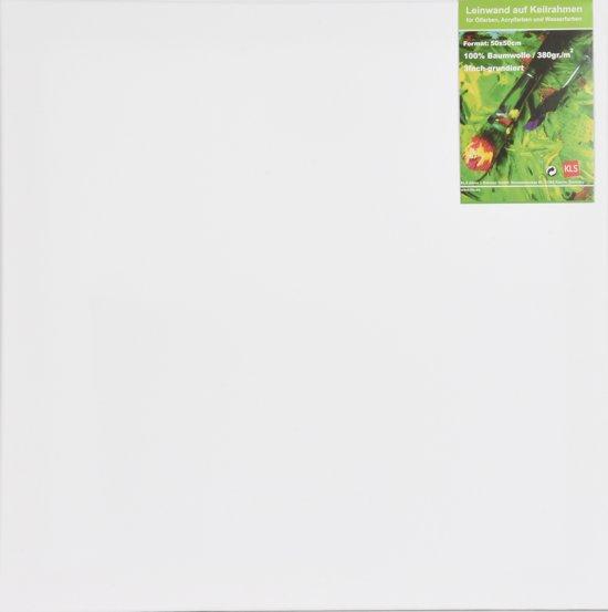 KLS Schildersdoek 50x50 cm - 380g/m² - canvas